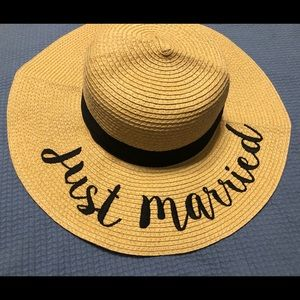 Just Married Hat!